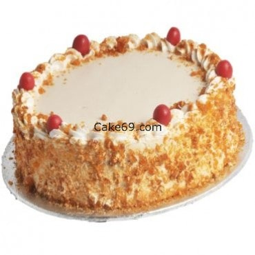 Butterscotch Crunchy Cake