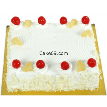 Square Pineapple Cake