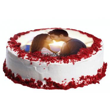 Photo Cake Valentines