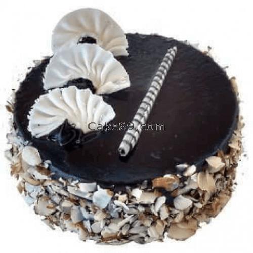 Dry Fruit Chocolate Cake