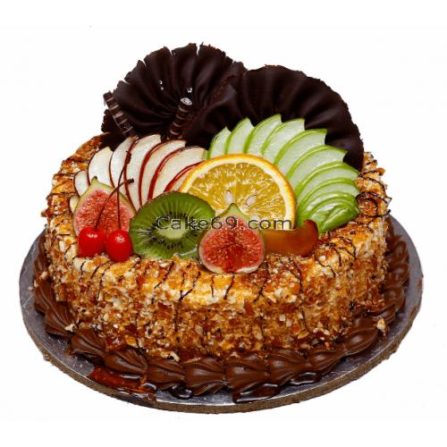 Butter Scotch Fruit Cake