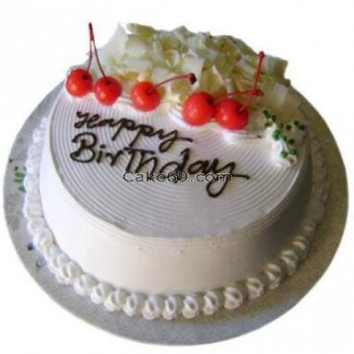 White Forest Cake-