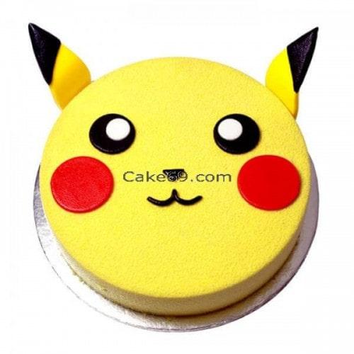 Pikachu Kids Cake