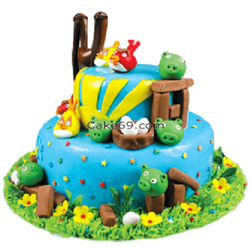 Angry Birds Cake