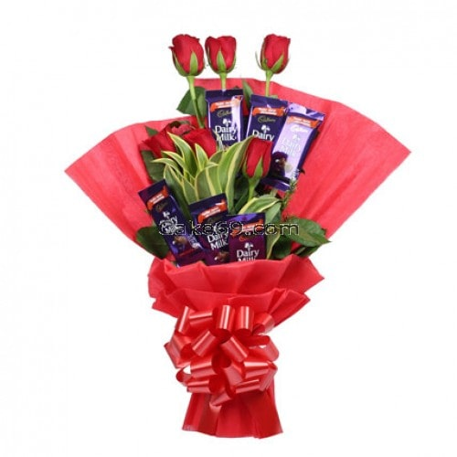 Chocolate Rose Cadbury Celebrations