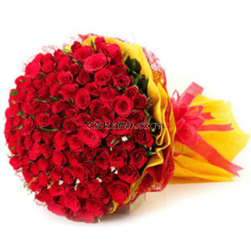 Beautiful Bouquet Red Roses