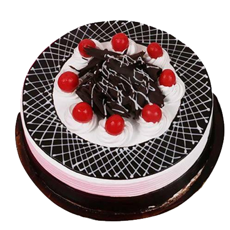 Black Forest Cake With Wafer