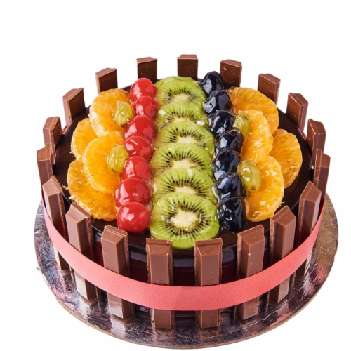 Premium Chocolate Fruit Cake