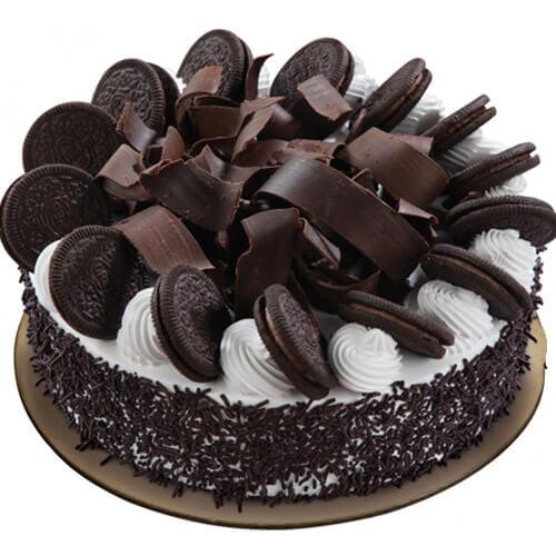 Premium Black Forest Orio Cake