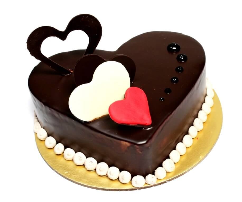 Premium Chocolate Love Cake