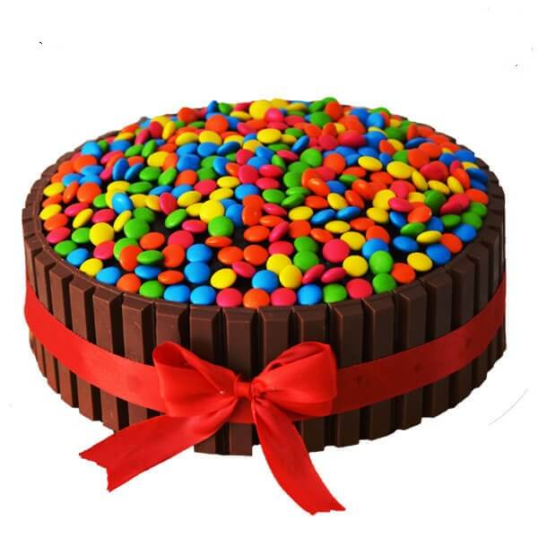 Premium Chocolate Gems Cake