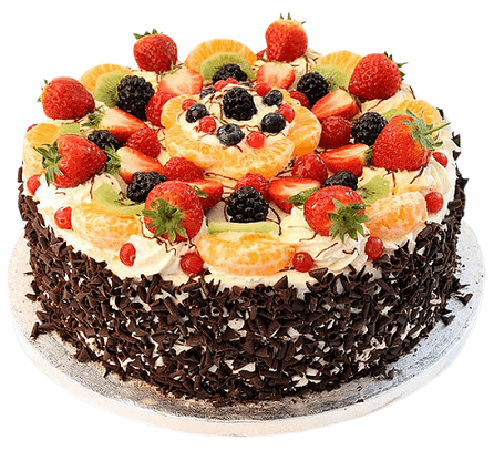 Premium Blackforest Fruit Cake