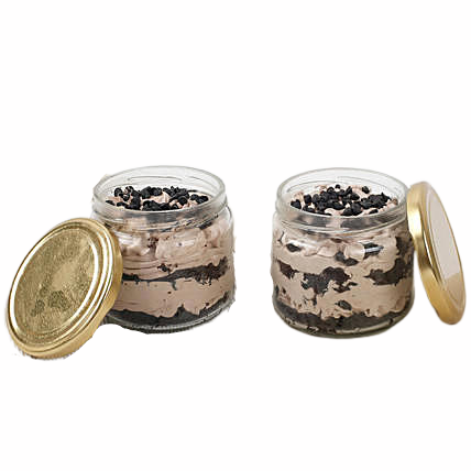 Chococlate jar cake