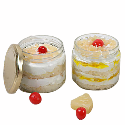 Pineapple Jar Cake