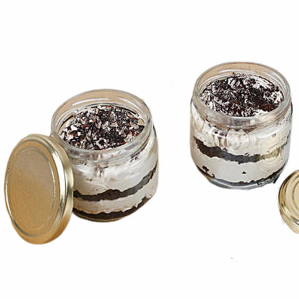 Blackforest Jar Cake