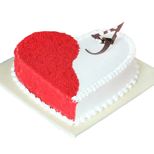 Red Velvet Never Stop Loving You Cake