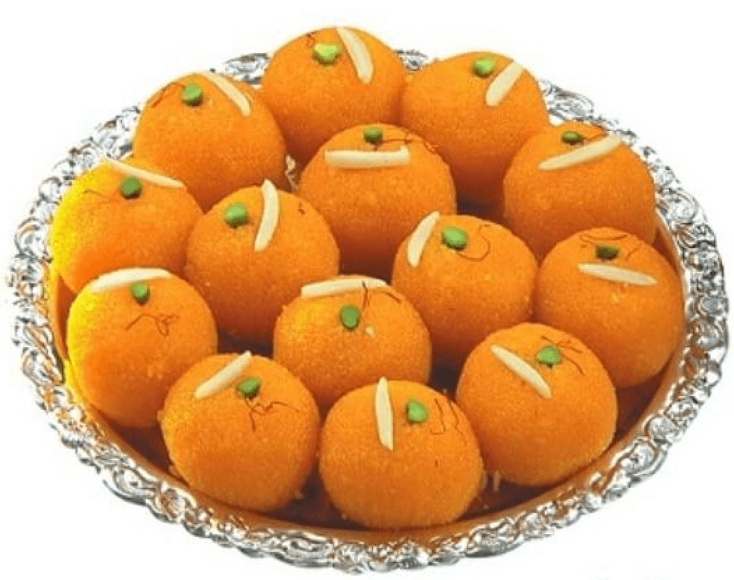 Motichur laddu for Diwali