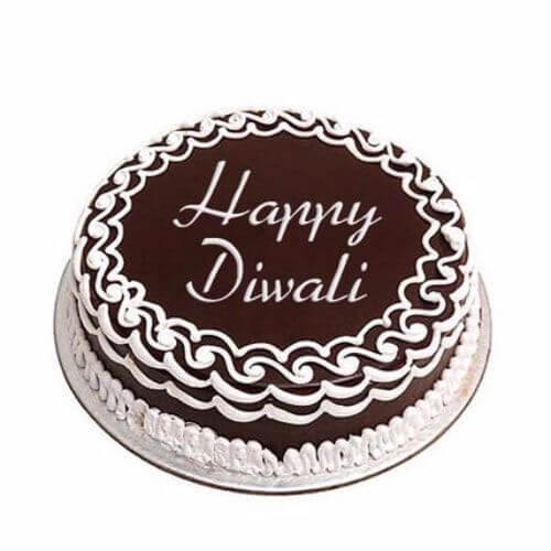 Happy Diwali Chocolate Cake