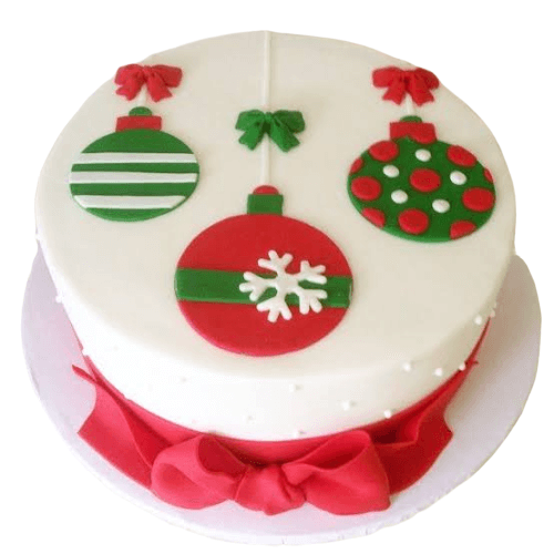 Christmas Design Cake
