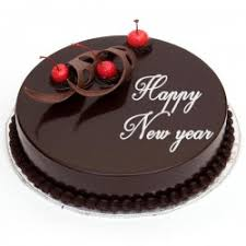 Chocolate New Year Cake