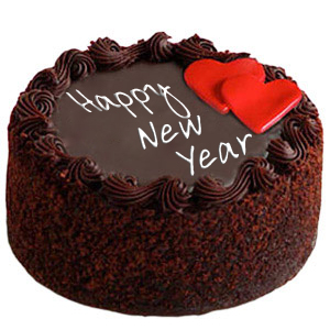Best Chocolate New Year Cake