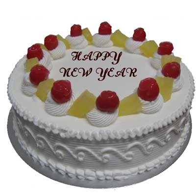 Pineapple New Year Cake