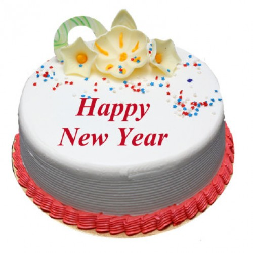 Vanilla New Year Cake