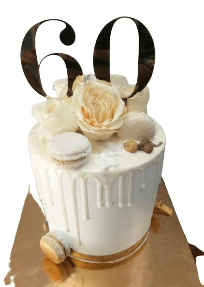 Number Anniversary Cake