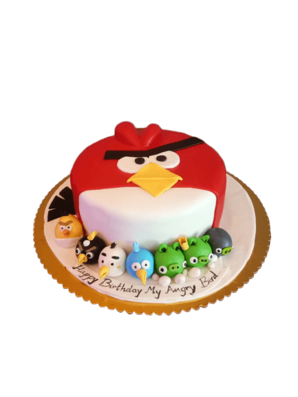 Best Angry Birds cake