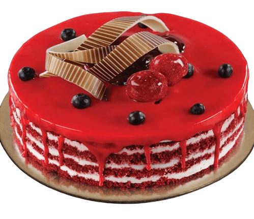 RedVelvet Christmas Cake
