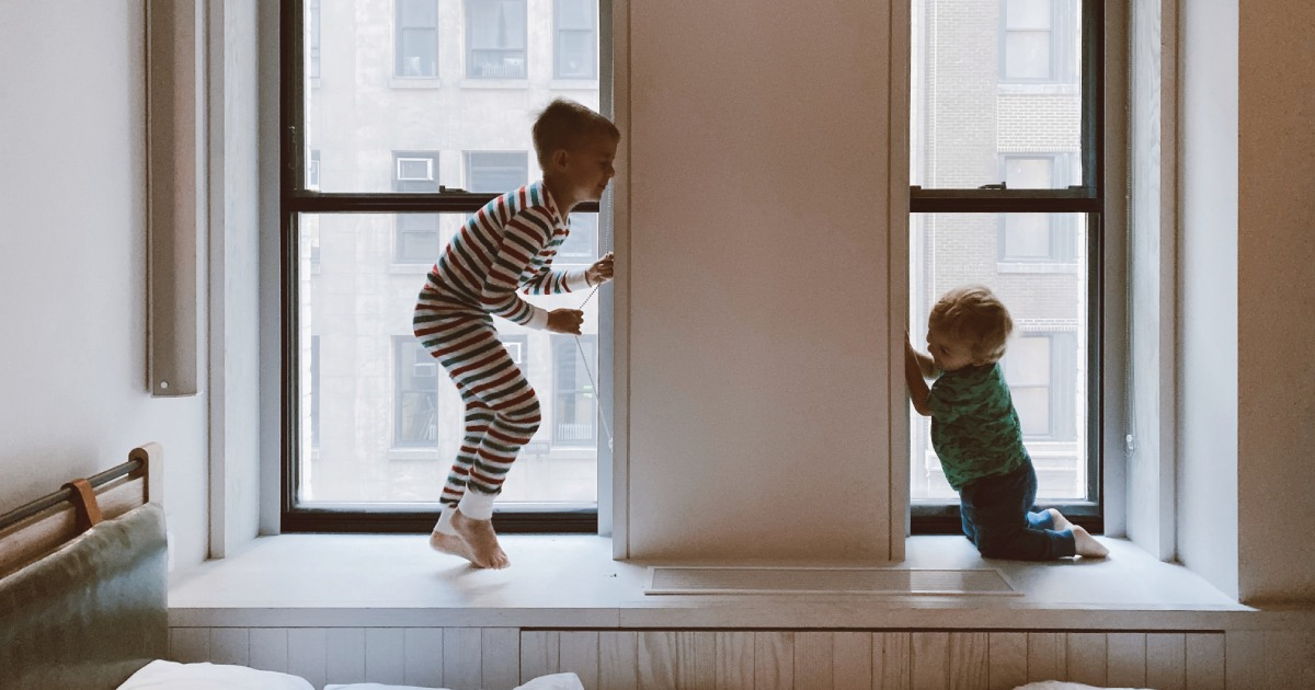 Children at home during the COVID-19 crisis