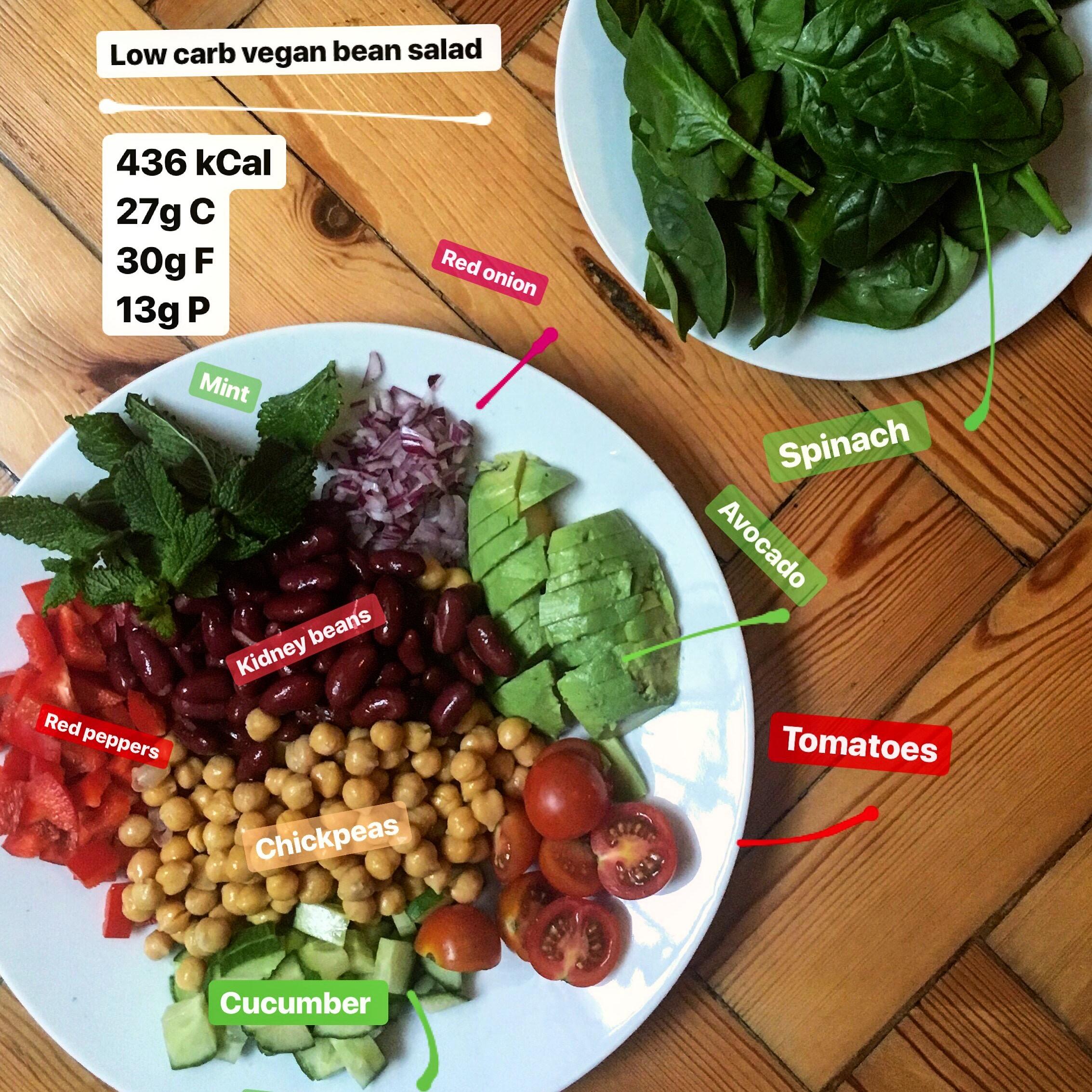lower carb vegan diet