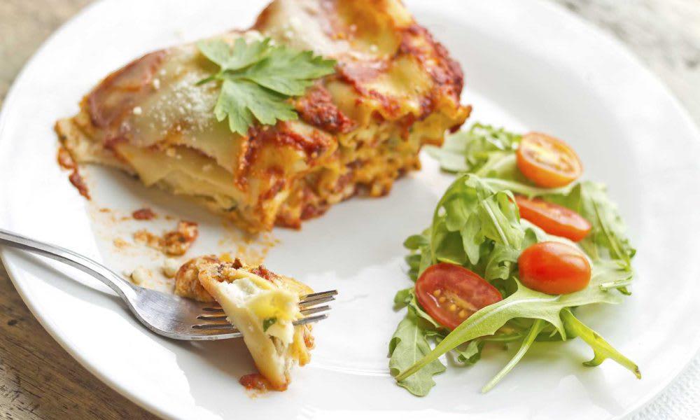 Vegetable Lasagne  (Serves 4)