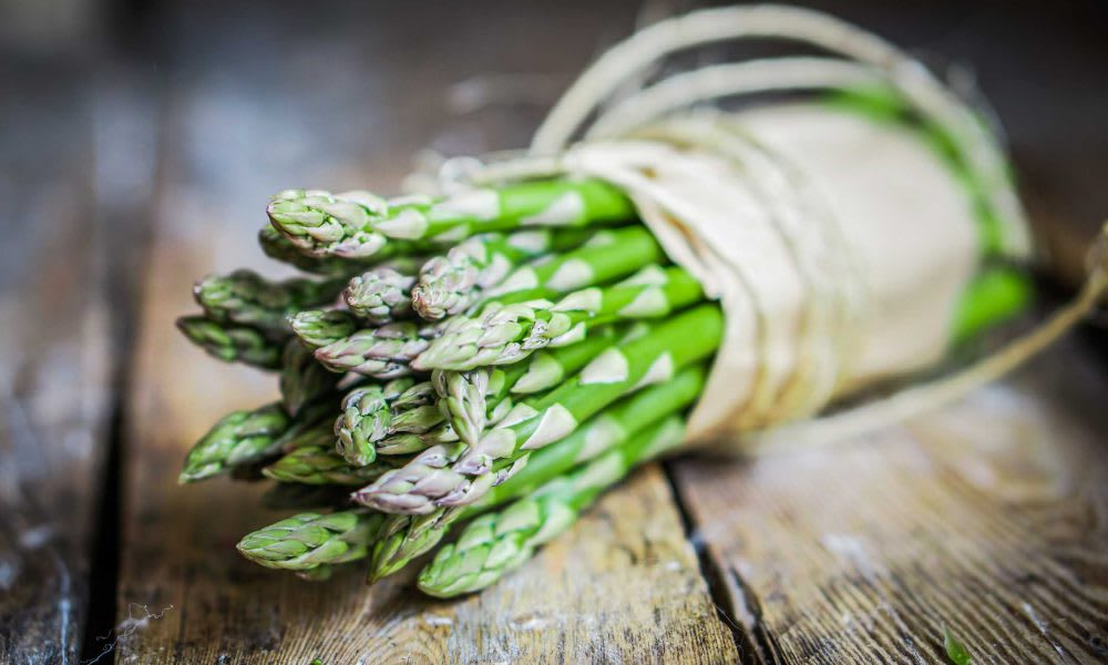 Asparagus and balsamic 	(Serves 6)
