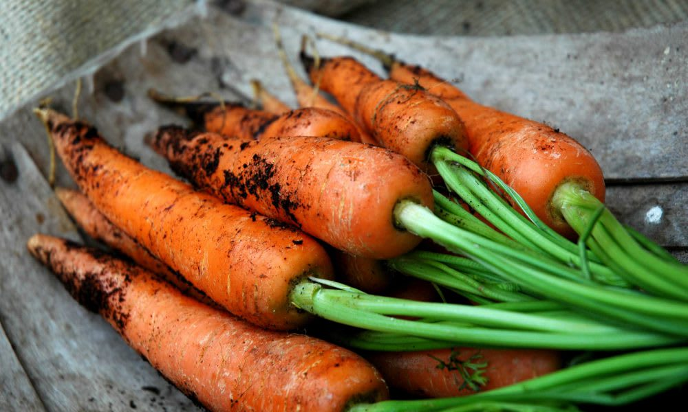 Carrots with Ginger(Serves 4)