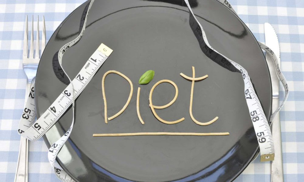 Diet Plate for People with Diabetes