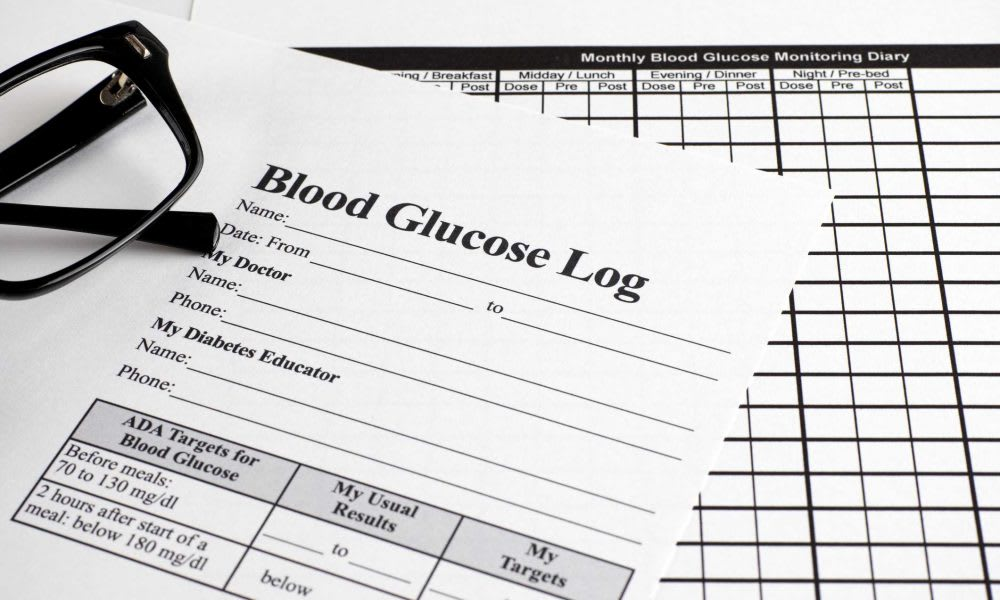 Blood Glucose Diaries Free Blood Glucose Monitoring Diary Download