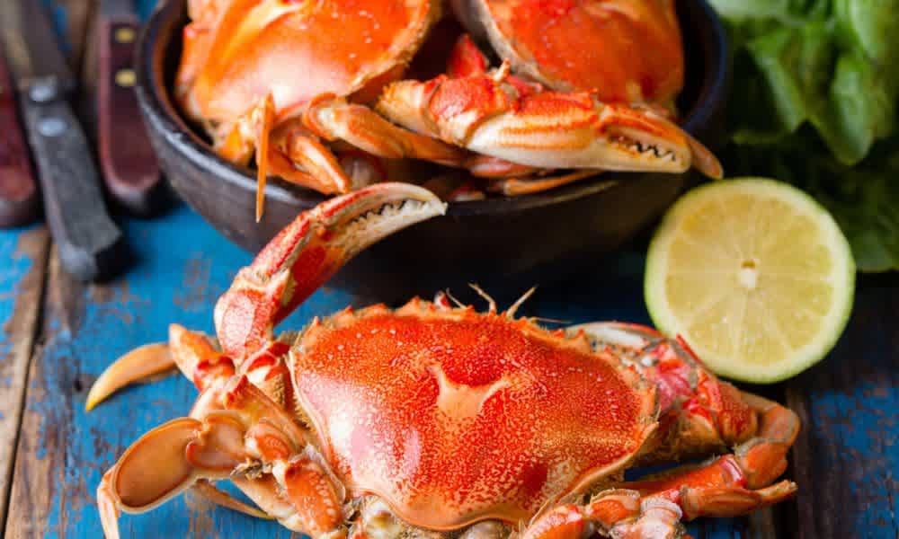 Hot crab spread (Serves 4)