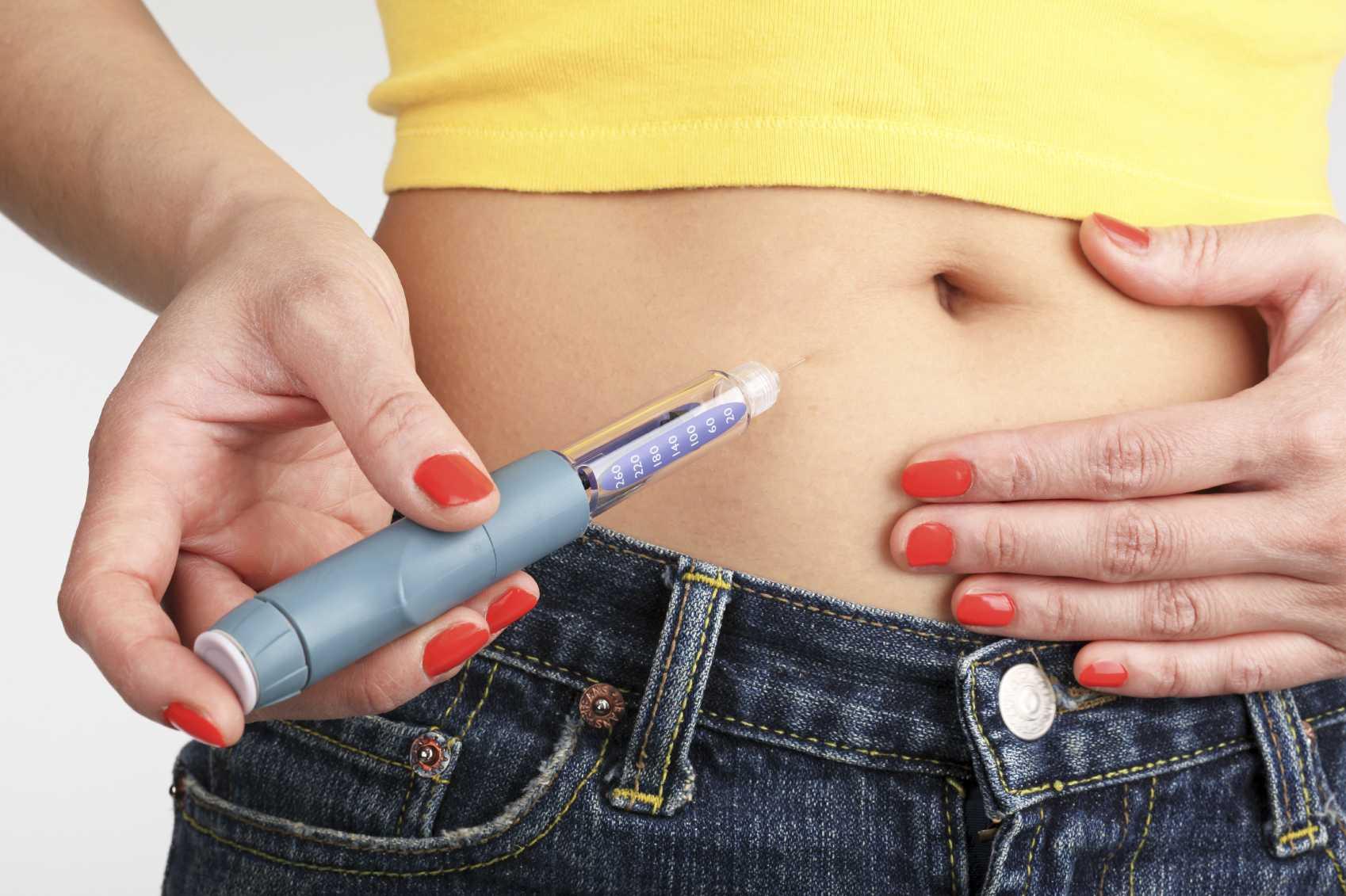 Injecting Insulin
