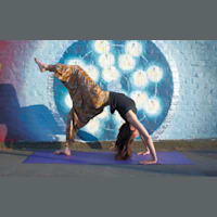 Purple Palm Yoga - Sydenham Tennis Club