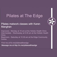 Pilates at the Edge - The Edge Community Centre