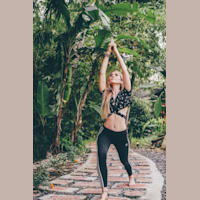 Almond Blossom Yoga - Pi Artworks