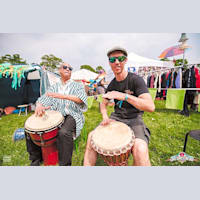 World Jungle African Drumming - Malcolm X Centre