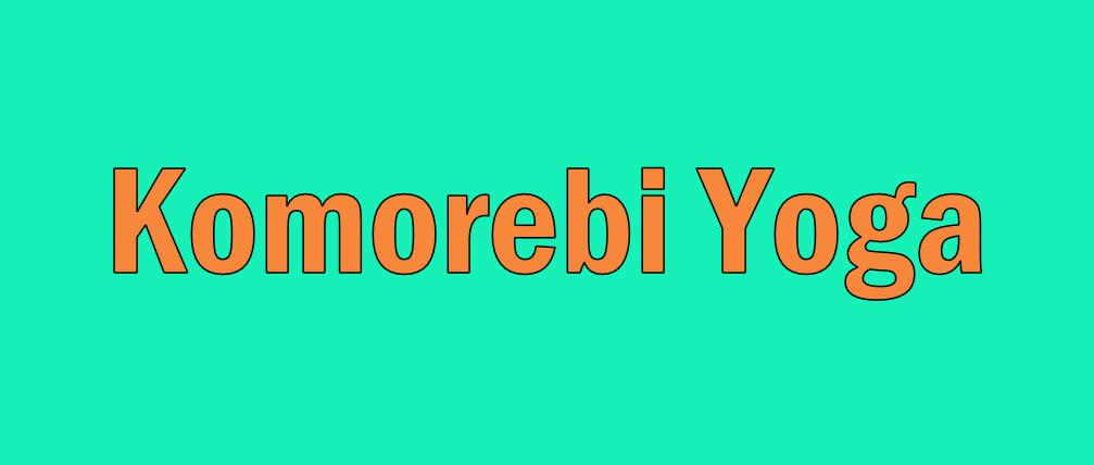 Komorebi Yoga