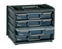 Handybox komplett med 4 skrin