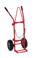 Gasstralle 2 * 20 liter m/massive hjul)