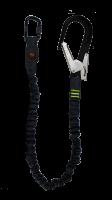 Falldemperline elastisk 1,5M - Stålkrok