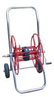 Slangetrommel m/ Hjul 1/2'' 80M PVC Slange