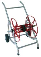 Slangetrommel m/ Hjul 1'' 80M PVC Slange
