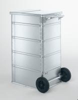 Avfallsbeholder aluminium 240 liter